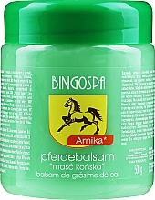 Parfums et Produits cosmétiques Baume de cheval à l'extrait d'arnica pour corps - BingoSpa Horse Ointment With Arnica