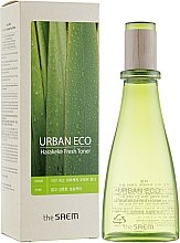 Parfums et Produits cosmétiques Lotion tonique rafraîchissante à l'extrait de lin de Nouvelle-Zélande - The Saem Urban Eco Harakeke Fresh Toner