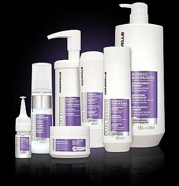 Shampooing déjaunissant - Goldwell Dualsenses Blondes & Highlights Anti-Brassiness Shampoo — Photo N3