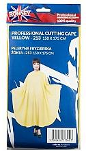 Parfums et Produits cosmétiques Cape de coiffure, jaune - Ronney Professional Cutting Cape
