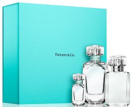 Parfums et Produits cosmétiques Tiffany Tiffany & Co - Coffret (eau de parfum 75 ml + eau de parfum 5 ml + gel douche 100 ml)