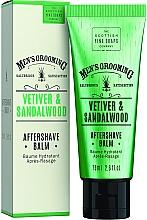Parfums et Produits cosmétiques Baume après-rasage au vétiver et bois de santal - Scottish Fine Soaps Vetiver Sandalwood Aftershave Balm