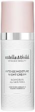 Parfums et Produits cosmétiques Crème de nuit au jus d'aloe vera et acide hyaluronique - Estelle & Thild BioHydrate Intense Moisture Night Cream