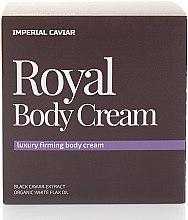 Parfums et Produits cosmétiques Crème liftante à l'extrait de caviar noir pour corps - Natura Siberica Fresh Spa Imperial Caviar Royal Body Cream