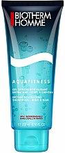 Parfums et Produits cosmétiques Gel douche aux sels minéraux pour corps et cheveux - Biotherm Homme Aquafitness Shower Gel Body & Hair