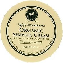 Parfums et Produits cosmétiques Crème à raser bio pour peaux sensibles - Taylor of Old Bond Street Organic Shaving Cream