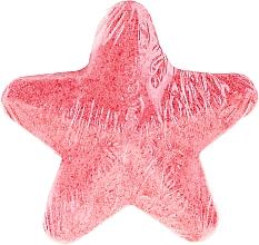 Parfums et Produits cosmétiques Bombe de bain effervescente, étoile, Pêche - IDC Institute Bath Fizzer Star