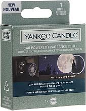 Parfums et Produits cosmétiques Yankee Candle Car Powered Refill Midsummer's Night - Diffuseur électrique de parfum pour voiture (recharge)