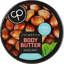 Parfums et Produits cosmétiques Beurre au cacao et karité pour corps - Cosmepick Body Butter Hazelnut