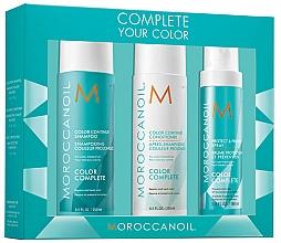 Parfums et Produits cosmétiques Moroccanoil Color Complete - Set (shampooing/250ml + après-shampooing/250ml + brume protectrice/160ml)
