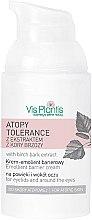 Parfums et Produits cosmétiques Crème à l'extrait de bouleau pour contour des yeux - Vis Plantis Atopy Tolerance Emollient Eye Cream