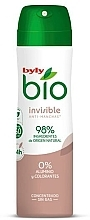 Parfums et Produits cosmétiques Déodorant spray - Byly Bio Natural 0% Invisible Desdorant Spray