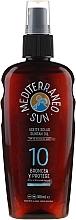 Parfums et Produits cosmétiques Huile de bronzage - Mediterraneo Sun Coconut Suntan Oil SPF10