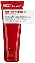 Parfums et Produits cosmétiques Gel autobronzant pour visage - Recipe For Men Self Tanning Face Gel