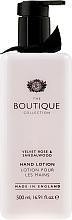 Parfums et Produits cosmétiques Lotion mains parfumée à la rose veloutée et bois de Santal - Grace Cole Velvet Rose & Sandalwood Hand Lotion