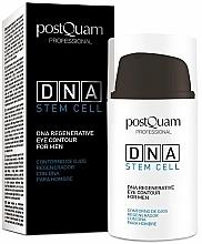 Parfums et Produits cosmétiques Crème regenerante pour contour des yeux - PostQuam Global Dna Men Intensive Eye Contour