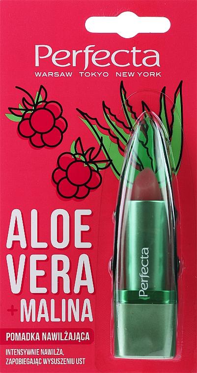 Baume à lèvres à l'aloe vera et framboise - Perfecta Aloe Vera + Raspberry