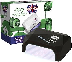 Parfums et Produits cosmétiques Lampe CCFL + LED, noire - Ronney Profesional Lucy CCFL + LED 38W (GY-LCL-021) Lamp