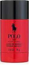Parfums et Produits cosmétiques Ralph Lauren Polo Red - Déodorant stick sans alcool