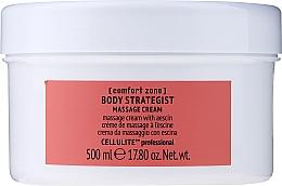 Parfums et Produits cosmétiques Crème de massage à l'escine pour corps - Comfort Zone Body Strategist Massage Cream