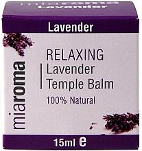 Parfums et Produits cosmétiques Baume à l'huile de lavande pour visage - Holland & Barrett Miaroma Relaxing Lavender Temple Balm