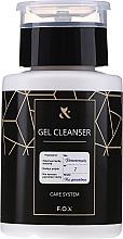 Parfums et Produits cosmétiques Dégraissant pour ongles - F.O.X Gel Cleanser Care System
