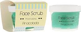 Parfums et Produits cosmétiques Gommage pour visage et lèvres Piña colada - Nacomi Moisturizing Face&Lip Scrub Pinacolada
