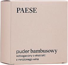 Parfums et Produits cosmétiques Poudre transparante matifiante à l'extrait de soie - Paese Bamboo Powder With Silk And Frozen Wine Extract
