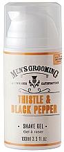 Parfums et Produits cosmétiques Gel de rasage - Scottish Fine Soaps Men's Grooming Thistle & Black Pepper Shaving Gel