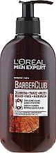 Parfums et Produits cosmétiques Gel nettoyant à l'huile de cèdre pour barbe, visage et cheveux - L'Oreal Paris Men Expert Barber Club