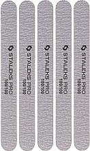 Parfums et Produits cosmétiques Limes à ongles minérales, NFB-21/4, 100/100 - Staleks Pro Set Mineral Straight Nail File