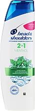 Parfums et Produits cosmétiques Shampoing et après-shampooing anti-pelliculaire - Head & Shoulders 2in1 Menthol