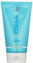 Parfums et Produits cosmétiques Crème solaire inodore pour corps - Coola Classic Body SPF 30 Unscented