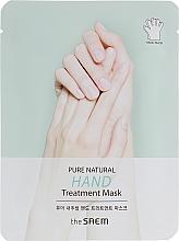 Parfums et Produits cosmétiques Masque-gants anti-rides pour mains - The Saem Pure Natural Hand Treatment Mask