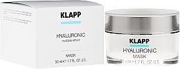 Parfums et Produits cosmétiques Masque hyaluronique pour visage - Klapp Hyaluronic Mask