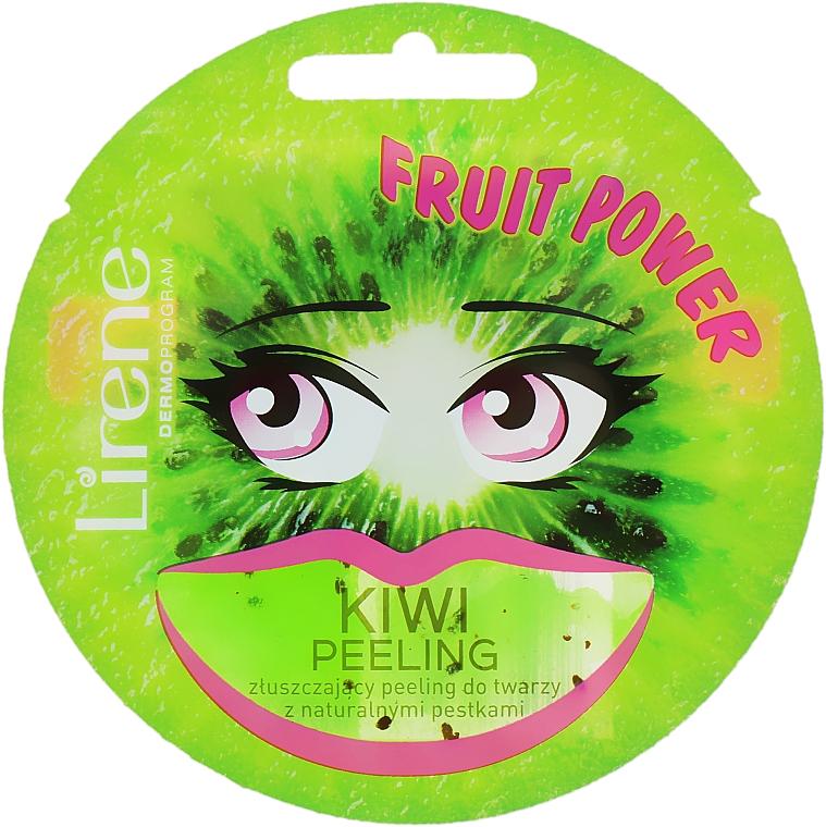 Exfoliant aux graines de kiwi pour visage - Lirene Fruit Power