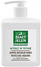 Parfums et Produits cosmétiques Savon liquide traditionnel pour peaux sensibles - Bialy Jelen Hypoallergenic Soap