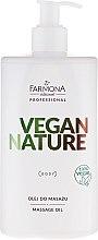 Parfums et Produits cosmétiques Huile de massage vegan pour corps - Farmona Professional Vegan Nature Massage Oil