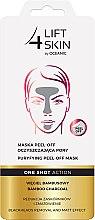 Parfums et Produits cosmétiques Masque peel-off anti-points noirs au charbon de bambou - Lift4Skin Maska Peel-Off