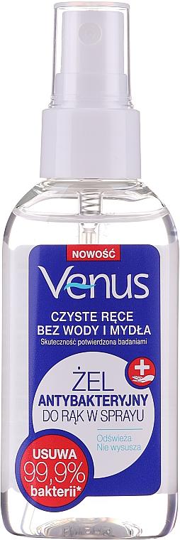 Gel-spray antibactérien pour mains - Venus Antibacterial Hand Gel Spray