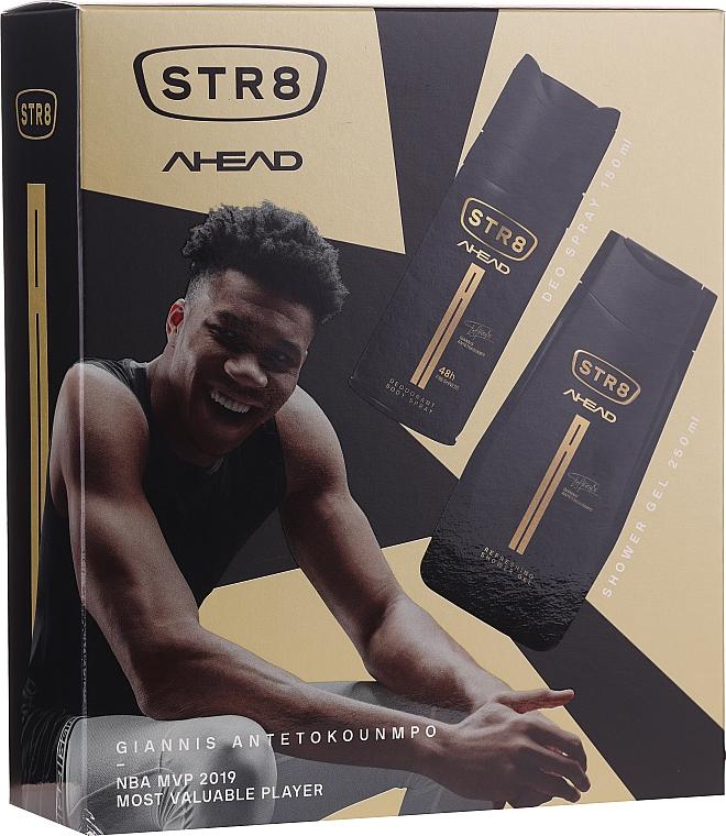 Str8 Ahead - Set (déodorant/150ml + gel douche/250ml)
