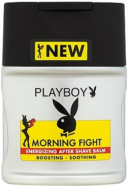 Baume après-rasage énergisant - Playboy Morning Fight After Shave Balm — Photo N1