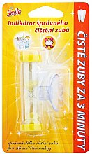 Parfums et Produits cosmétiques Indicateur de brossage, jaune - VitalCare White Pearl Smile Indicator Proper Toothbrushing