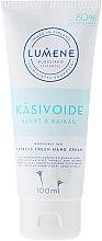 Parfums et Produits cosmétiques Crème sans parabène pour mains - Lumene Klassiko Express Fresh Hand Cream