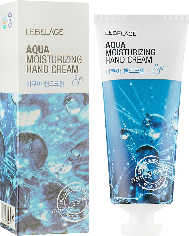 Crème hydratante pour mains - Lebelage Aqua Moisturizing Hand Cream — Photo N1