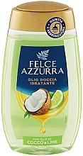 Parfums et Produits cosmétiques Huile de douche, Noix de coco et Lime - Felce Azzurra Shower Oil