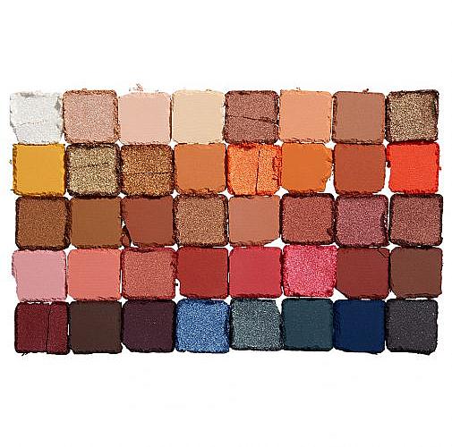Palette d'ombres à paupières - NYX Professional Makeup Escape Artist — Photo N2