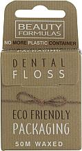 Parfums et Produits cosmétiques Fil dentaire ciré écologique - Beauty Formulas Eco Friendly Dental Floss