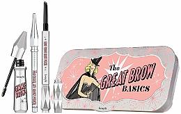 Parfums et Produits cosmétiques Kit sourcils (gel/3g+crayon/0.17g+crayon/mini/0.04g) - Benefit The Great Brow Basics