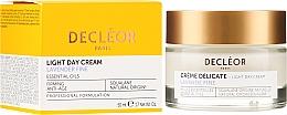 Parfums et Produits cosmétiques Crème aux huiles essentielles de lavande vraie et d'iris pour visage - Decleor Light Day Cream Lavender Fine Firming Anti-Age